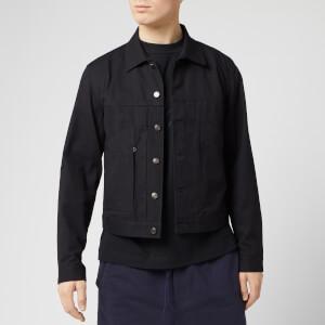 Y-3 Men's Canvas Workwear Jacket - Black