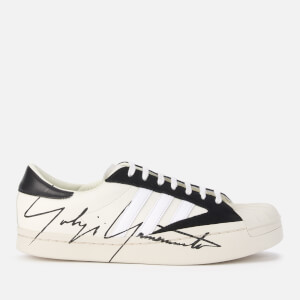 Y-3 Men's Yohji Star Trainers - White/Black/Ecru