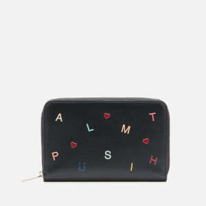 Paul Smith Women's Letters Purse Medium Zip - Black