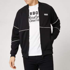 Barbour International Men's Pipe Track Top - Black