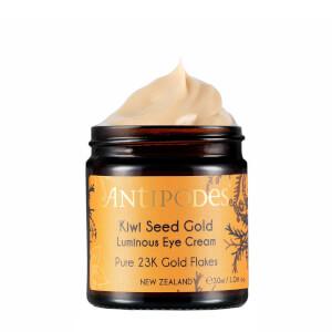 Antipodes Kiwi Seed Gold Luminous Eye Cream 30ml