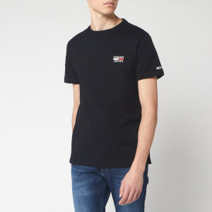 Tommy Jeans Men's Chest Logo T-Shirt - Tommy Black