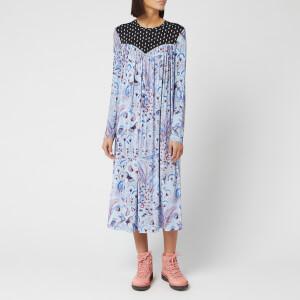 Stine Goya Women's Chloris Light Jersey Dress - Jungle