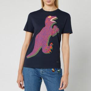 PS Paul Smith Women's Big Dino T-Shirt - Navy