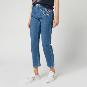 PS Paul Smith Women's Badge Jeans - Blue