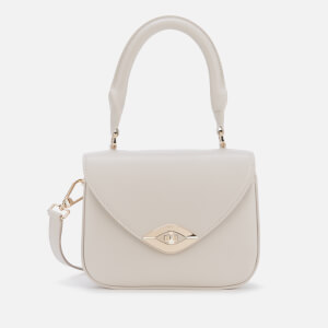 Furla Women's Eye Mini Top Handle Bag - Chalk