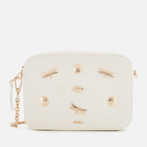 Furla Women's Brava Zaffiro Mini Cross Body Bag - Chalk