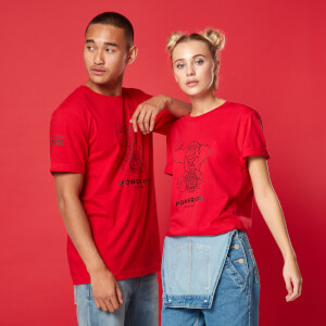 Power Up! Unisex T-Shirt - Red