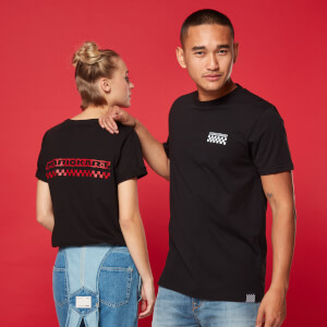 Camiseta Mario Kart Racing Pit Crew - Unisex - Negro
