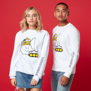 Sweat-shirt Unisexe Lakitu - Blanc