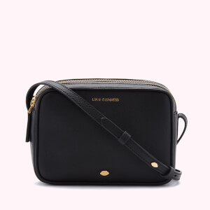 Lulu Guinness Women's Lip Pin Cole Cross Body Bag - Black