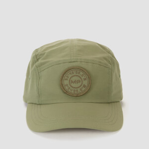 Heren 5 Panel Cap - Kaki