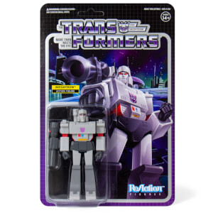 Super7 Transformers ReAction Figure - Megatron