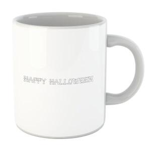 Happy Halloween Bones Mug