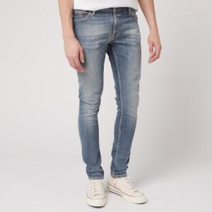 Nudie Jeans Men's Skinny Lin Jeans - Misty Blue