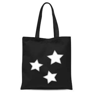 Stars Tote Bag - Black