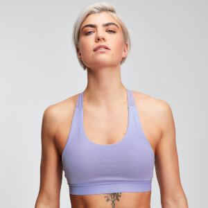 MP Power Dames Cross Back Sportbh - Wisteria