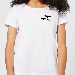 Halloween Three Bats Women's T-Shirt - White
