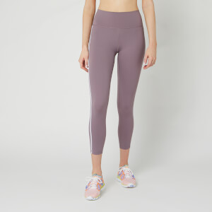 adidas Women's Believe This 3 Stripe 7/8 Tights - Legacy Purple