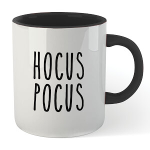 Hocus Pocus Mug - White/Black