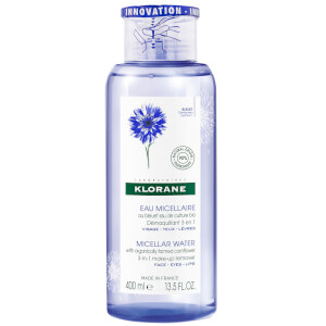 KLORANE Micellar Water with Organically Farmed Cornflower 400ml