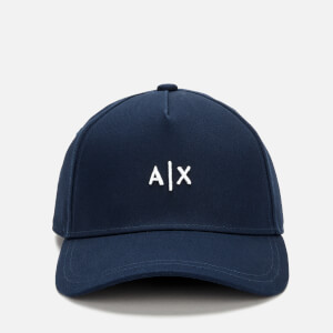 Armani Exchange Men's Baseball Hat - Blue/Grigio