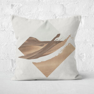 Strange Waves Cushion Square Cushion