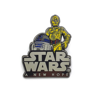 Star Wars Augmented Reality Pin Badge Collectable - A New Hope