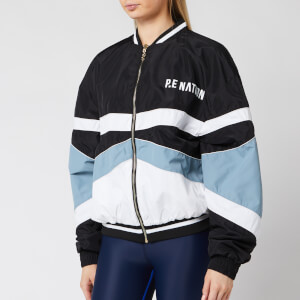 P.E Nation Women's Dominion Bomber Jacket - Blue Pal