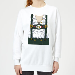 Oktoberfest Mens Chest Women's Sweatshirt - White