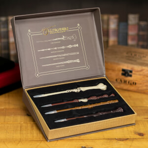 Harry Potter Wand Pens in Ollivanders Box - Set of 4
