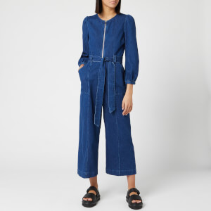 Whistles Women's Estelle Denim Jumpsuit - Blue