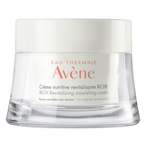 Avène Les Essentiels Rich Revitalizing Nourishing Cream Moisturiser for Dry, Sensitive Skin 50ml