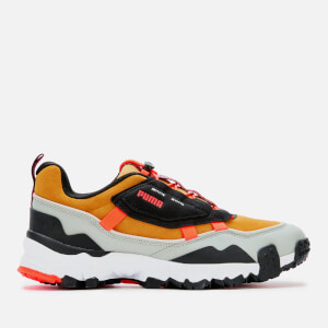 Puma Men's Trailfox Overland Persian Gulf Trainers - Yellow Multi