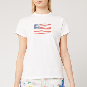 Polo Ralph Lauren Women's Flag T-Shirt - White