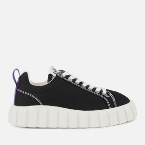 Eytys Odessa Canvas Low Top Trainers - Black