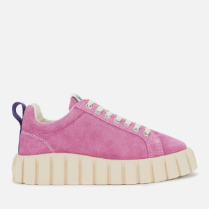 Eytys Women's Odessa Suede Low Top Trainers - Fuchsia
