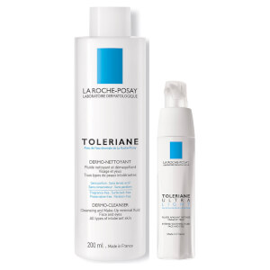 La Roche-Posay Sensitive Skin Cleanser and Moisturiser