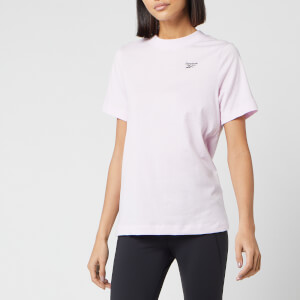Reebok Women's Easy Short Sleeve T-Shirt - Pixel Pink