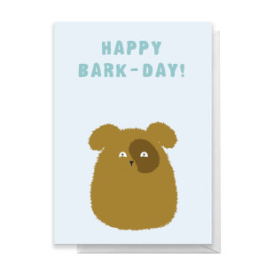 Happy Bark-Day! Greetings Card