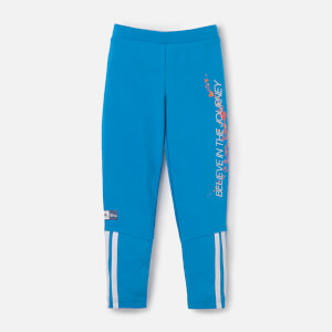 adidas Girls Frozen Tights - Bold Aqua