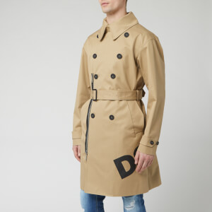 Dsquared2 Men's Trench Coat - Beige