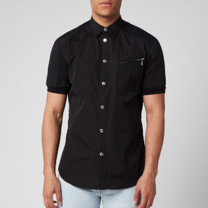 Dsquared2 Men's Padded Biker Shirt - Black