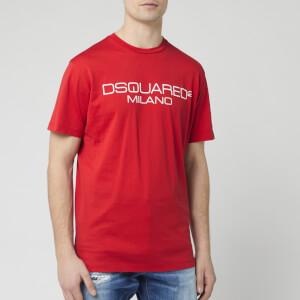 Dsquared2 Men's Milan Logo T-Shirt - Red
