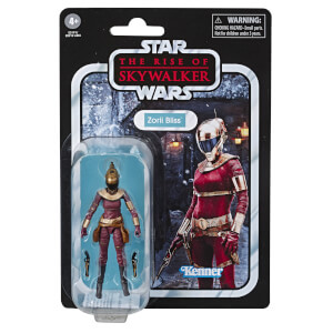 Hasbro Star Wars: The Rise of Skywalker The Vintage Collection Zorii Bliss 3.75 Inch Action Figure