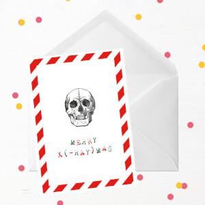 Merry X(-Ray)mas Greetings Card