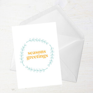 Seasons Greetings Greetings Card