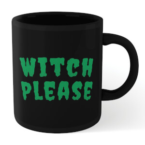 Witch Please Mug - Black