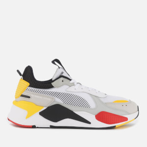 Puma Men's RS-X Toys Trainers - Puma White/Puma Black/Cyber Yellow