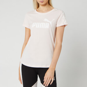 Puma Women's Amplified Short Sleeve T-Shirt - Rosewater